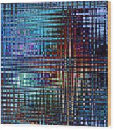 Color Frequency 2 Wood Print