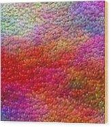 Color Hearts 1c Wood Print