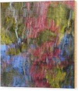 Color Palette Wood Print