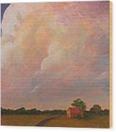 Color Storm Wood Print
