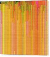 Color Tones 2  Wood Print