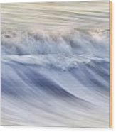 Color Wave IIi Wood Print by Rob Travis