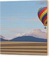 Colorado Ballooning Wood Print