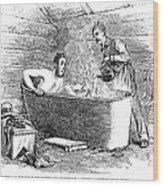 Colorado Bathhouse, 1879 Wood Print