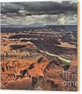 Colorado In The Canyons Wood Print