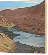 Colorado River Canyon 1 Wood Print