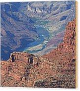 Colorado River I Wood Print