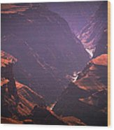 Colorado River II Wood Print