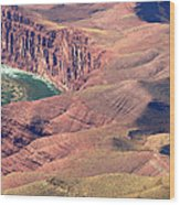 Colorado River Iv Wood Print