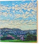 Colorado Skies 1 Wood Print