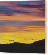 Colorado Sunrise -vertical Wood Print