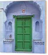 Colorful India Wood Print