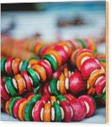 Colorful Jewellery Wood Print by Ankit Sharma