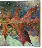Colorful Oak Wood Print