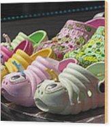 Colorful Shoe Wood Print