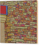 Colorful Stacked Stone Wood Print