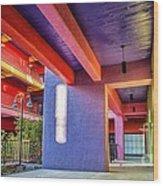 Colorful Tucson Apartment Wood Print