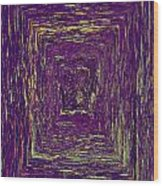 Coloristic Abstracts From Varikallio At Hossa Wood Print