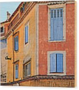 Colors In Provence Wood Print
