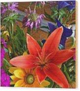 Colors Of Block Island Wood Print