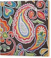 Colors Of Happiness Wood Print by Sandra Lett
