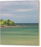 Colors Of Lake Superior Shores Wood Print