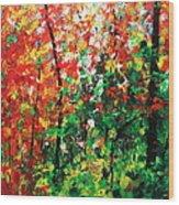 Colors Of October Wood Print