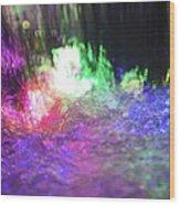 Colors Of The Rainbow  Wood Print