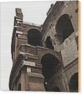 Coloseum Rome Wood Print