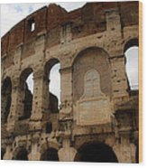 Colosseum 1 Wood Print