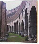 Colosseum Vomitorium Wood Print
