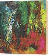 Colours Symphony Wood Print
