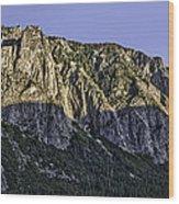 Columbia Rock Outlook Wood Print