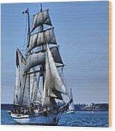Come Sail With Me Wood Print