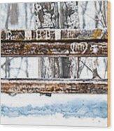Come Sit Awhile Wood Print