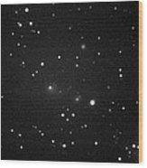 Comet 2008 J1 (boattini), May 2008 Wood Print