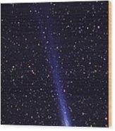 Comet Hyakutake Wood Print