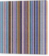Comfortable Stripes Ll Wood Print