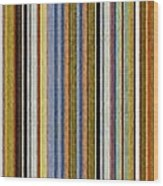 Comfortable Stripes Vlll Wood Print