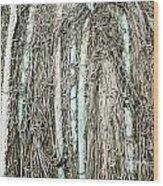 Commercial Fishing Net Wood Print
