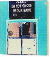 Common Courtesy Wood Print