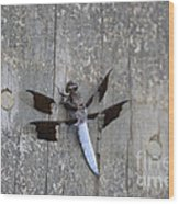 Common White Tail Dragonfly Wood Print