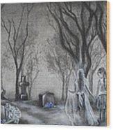 Communion Wood Print by Carla Carson