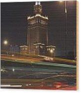 Communist Era Built Palace Of Culture Wood Print
