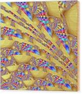 Complex Garden 2 Wood Print