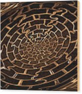 Complicated Journey Wood Print