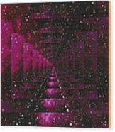 Computer Space Image Wood Print