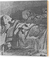 Conditions In Bellevue Hospital, New Wood Print
