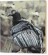 Condor Profile Wood Print