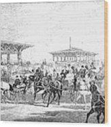 Coney Island, 1877 Wood Print